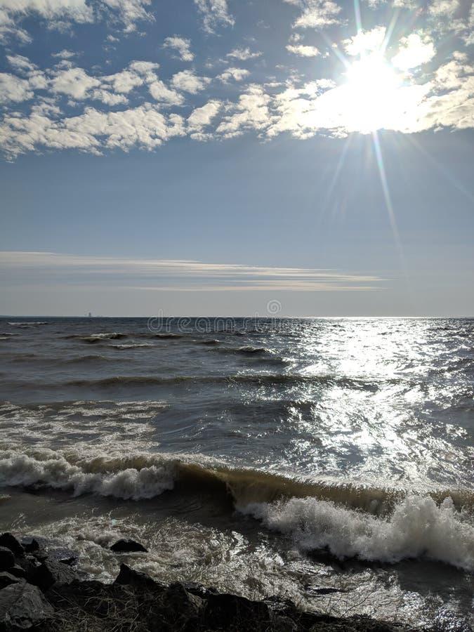 Regenbogen-Ufer lizenzfreies stockfoto
