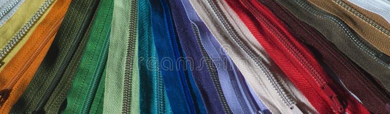 Regenbogen von zip stockfoto