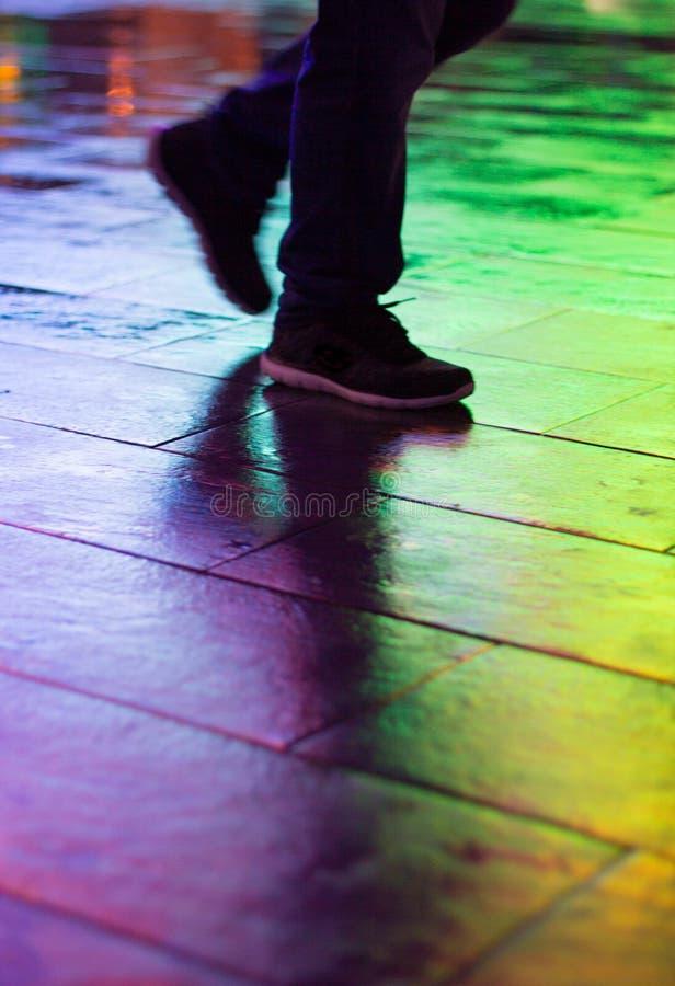 Regenbogen-Weg III lizenzfreie stockfotografie