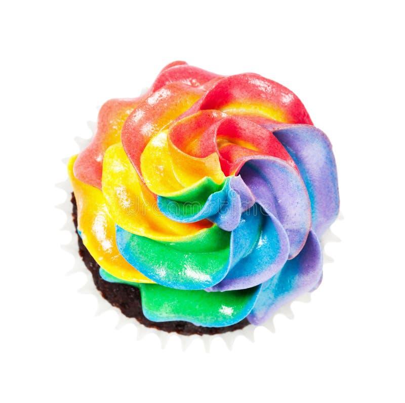 Regenbogen-Zuckerglasur stockfoto