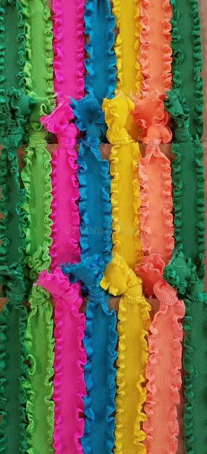 Regenbogenbänder stockfotografie