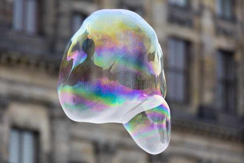 Regenbogenblase lizenzfreie stockfotos