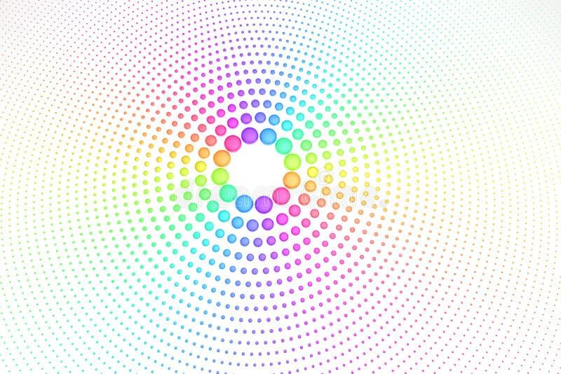 Regenbogenfarben lizenzfreie abbildung