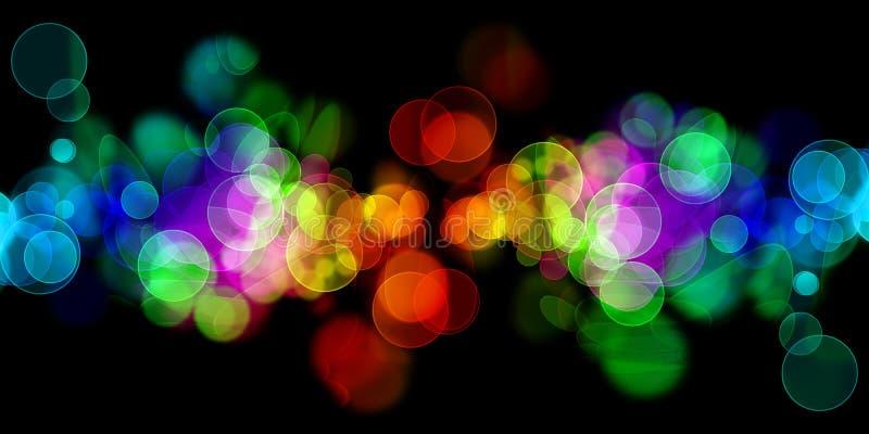 Regenbogenkreise lizenzfreie abbildung