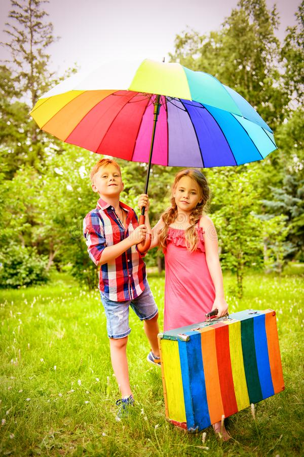 Regenbogensommerfarben lizenzfreie stockfotografie