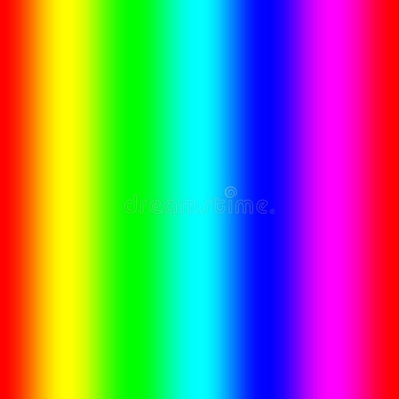 Regenbogenspektralsteigung lizenzfreie abbildung