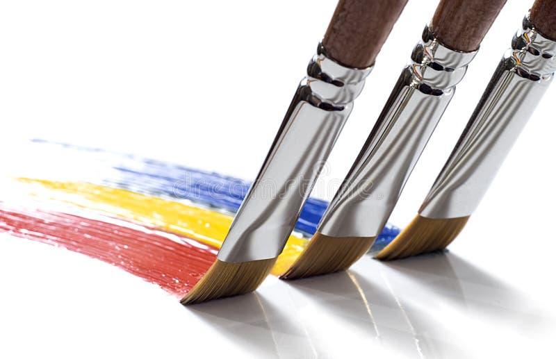 Regenbogenteamwork lizenzfreies stockbild