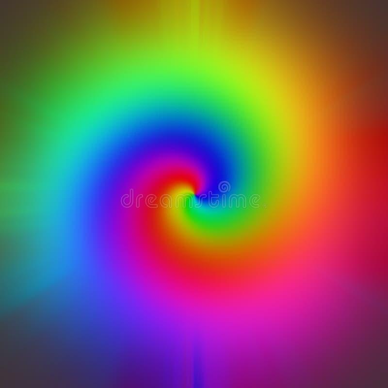 Regenboog stock illustratie