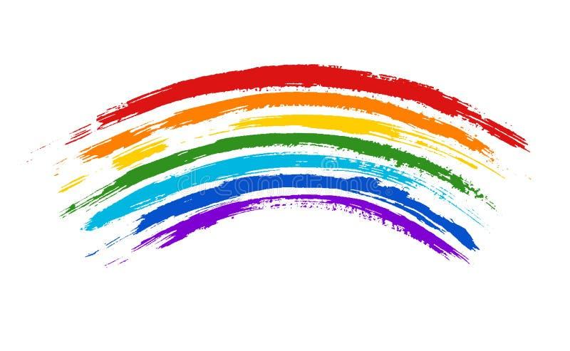 Regenboog vector illustratie