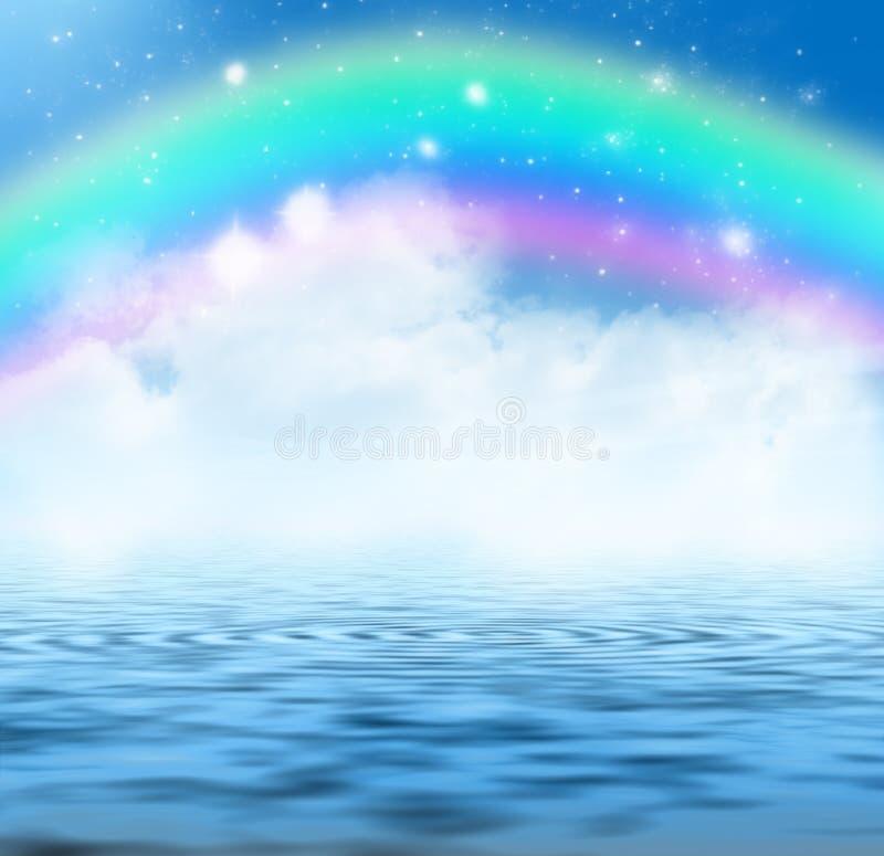 Regenboog royalty-vrije illustratie