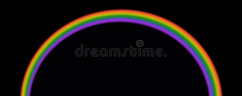 Regenboog in de hemel royalty-vrije stock foto
