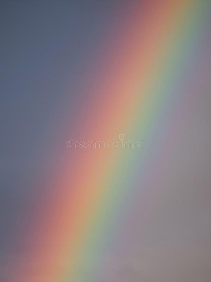Regenboog in de hemel royalty-vrije stock afbeelding