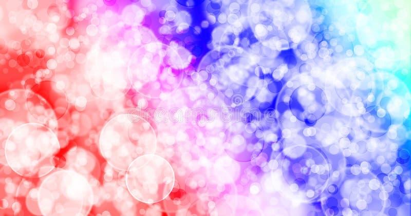 Regenboog zeven kleurt achtergrond royalty-vrije illustratie