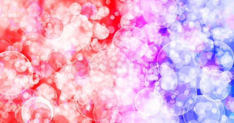 Regenboog zeven kleurt achtergrond stock illustratie