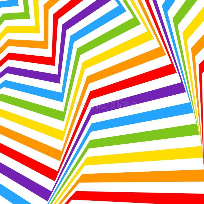 Regenboogachtergrond, LGBT-kleuren vector illustratie