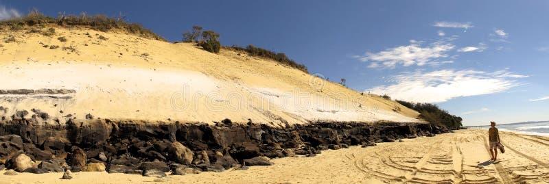 Regenboogstrand, Queensland, Australië royalty-vrije stock afbeeldingen