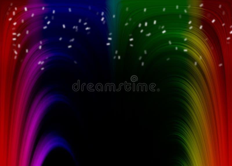 Regenboogtextuur vector illustratie
