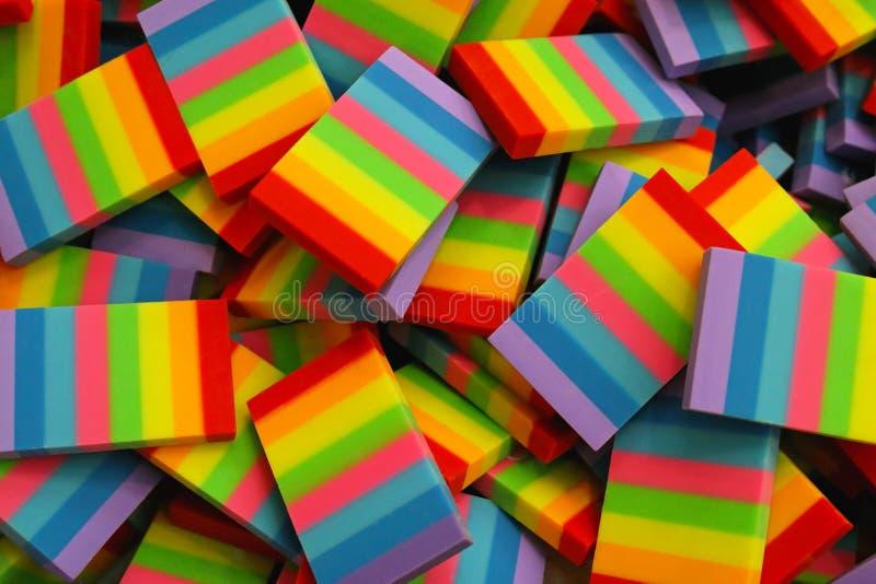 Regenboogvlag stock afbeeldingen