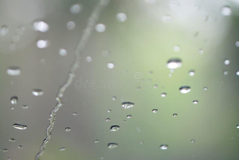 regendruppel stock foto's