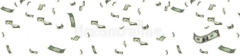 Regenend geld royalty-vrije illustratie