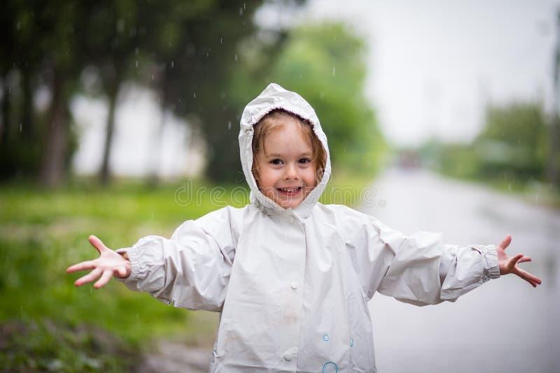 Regenende dag stock afbeeldingen