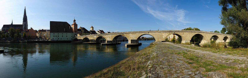 Regensburg stockfoto