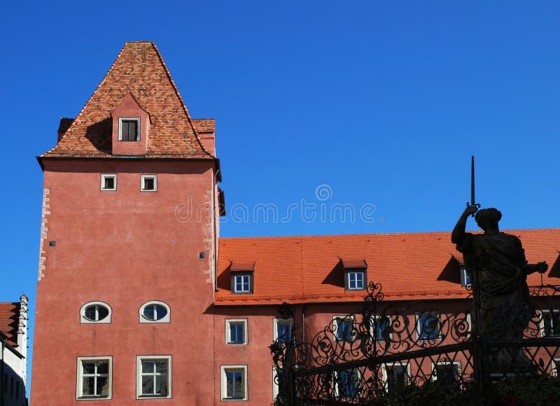 Regensburg lizenzfreies stockfoto