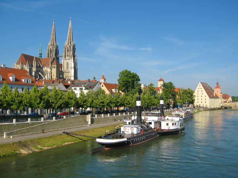 Regensburg fotografia stock libera da diritti