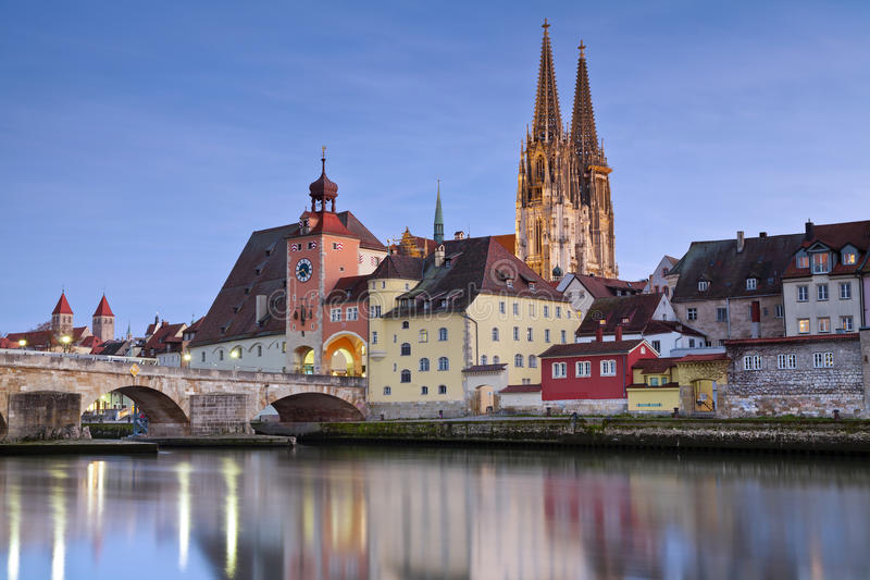 Regensburg. immagine stock libera da diritti