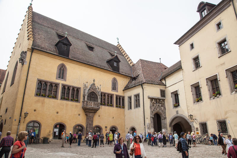 Regensburg, Alemanha foto de stock