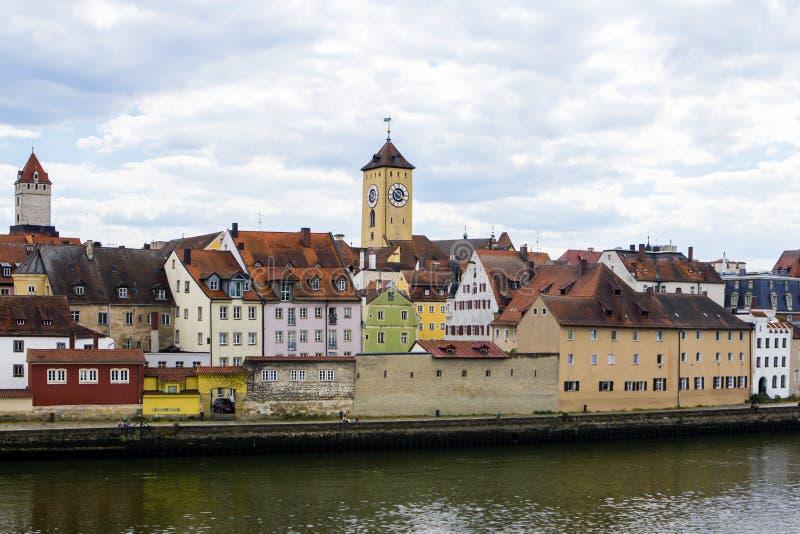 Regensburg, Alemania fotografía de archivo