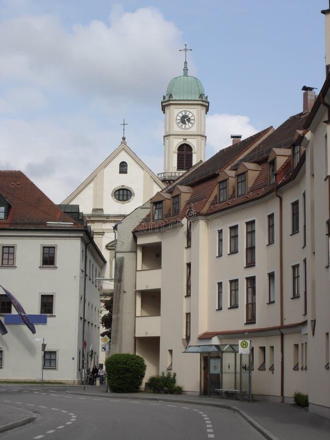 Regensburg-Beieren-Duitsland stock afbeelding