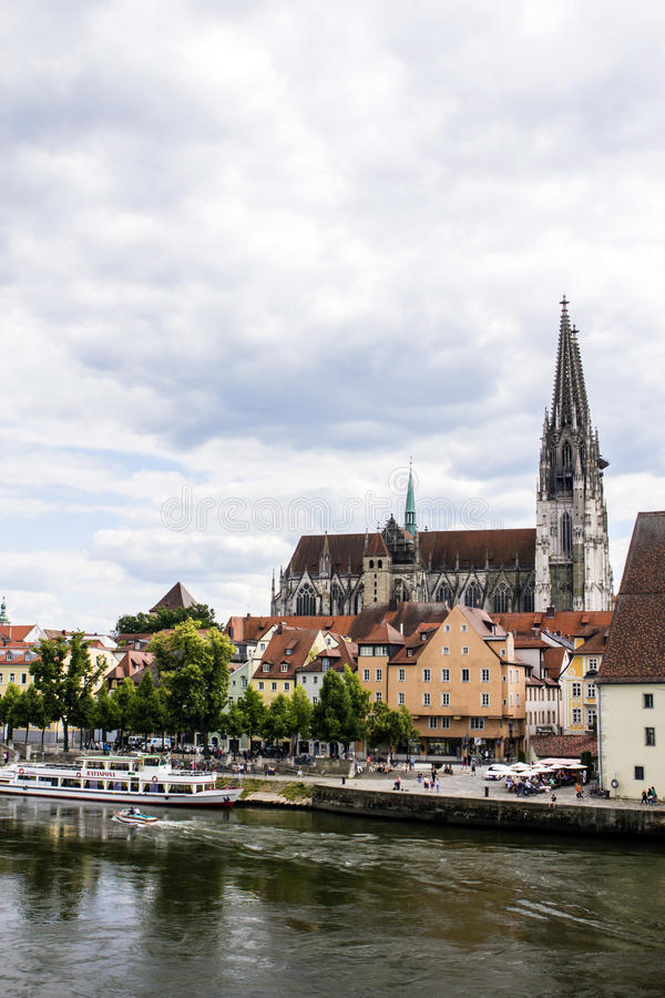 Regensburg, Deutschland lizenzfreie stockfotos