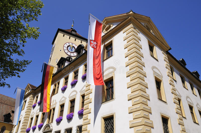 Regensburg, Germania fotografia stock libera da diritti