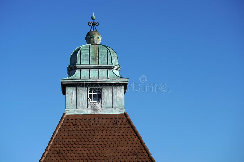 In Regensburg, old churches and St. Peter`s Cathedral. Photograph in the sunshine in the spring royalty free stock photos