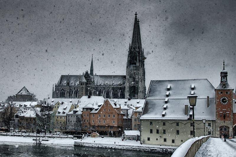 Regensburg (Tyskland) arkivfoto