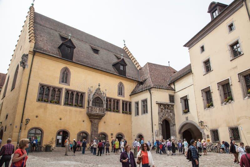 Regensburg Tyskland arkivfoto