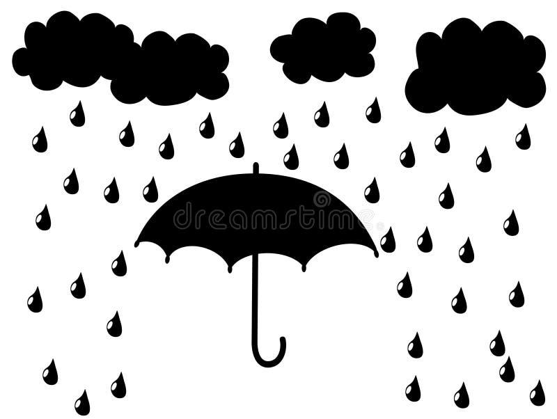 Regenschirm lizenzfreie abbildung