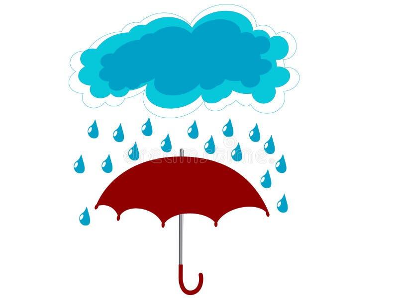 Regenschirm vektor abbildung