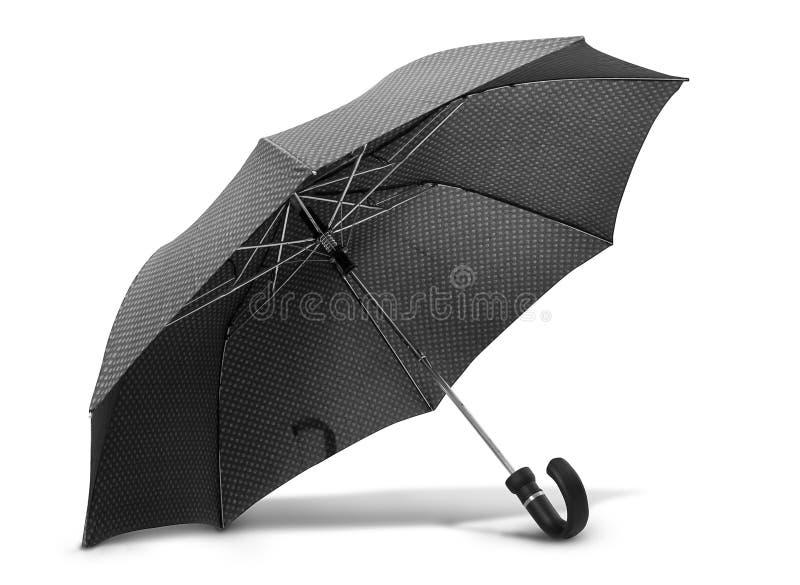 Regenschirm auf Weiß stockfoto