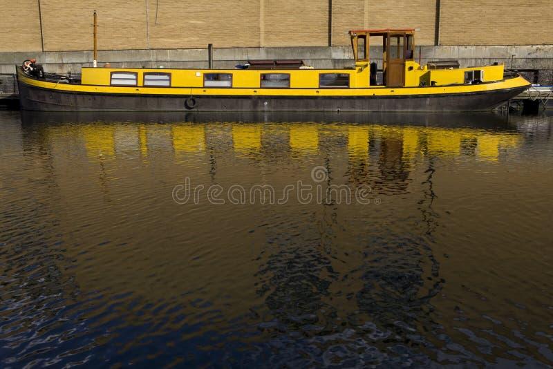 Regent canal boat in Camden Lock