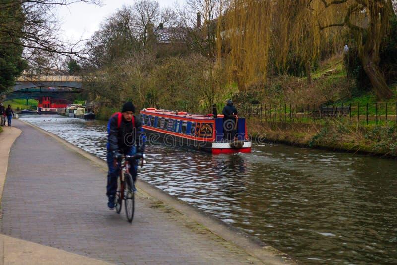 Regent kanał, Londyn fotografia stock