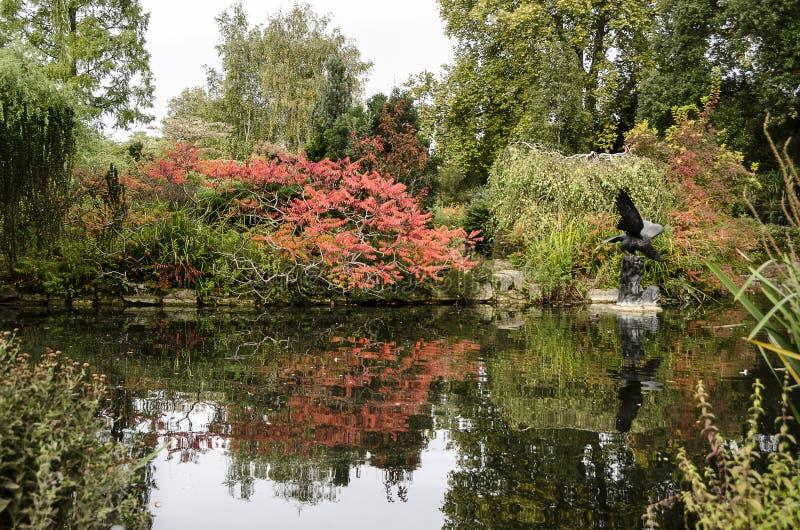 Regent Park in London, UK stock photo