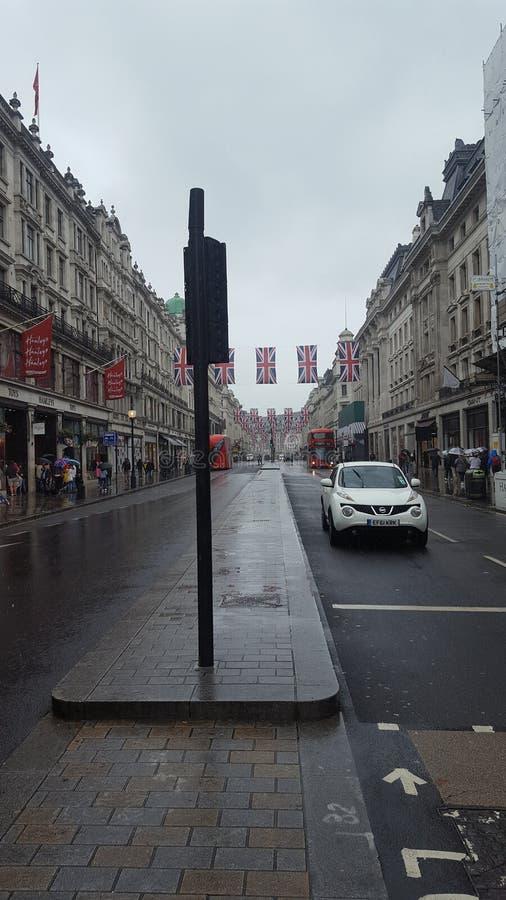 Regent Street photos libres de droits