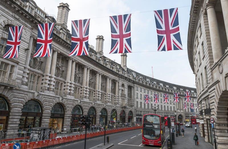 Regent Street imagens de stock royalty free