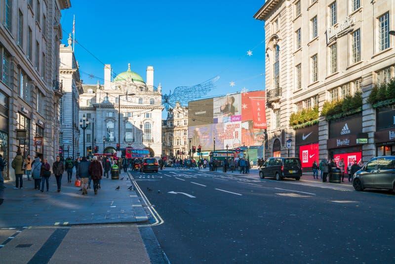 Download Regent Street Saint James ` S, London Redaktionell Arkivfoto - Bild av stad, europa: 106838108