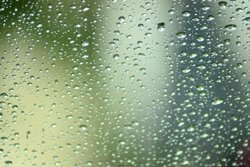 Regentropfen auf Fenstern lizenzfreies stockbild
