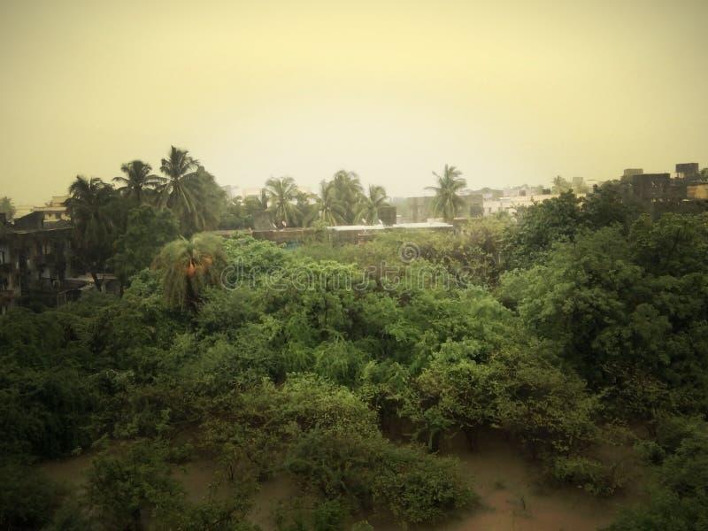 Regenzeit kommt an stockfotos