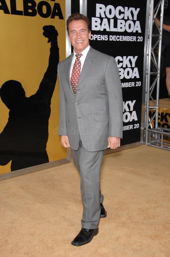 Regering Arnold Schwarzenegger royalty-vrije stock afbeelding