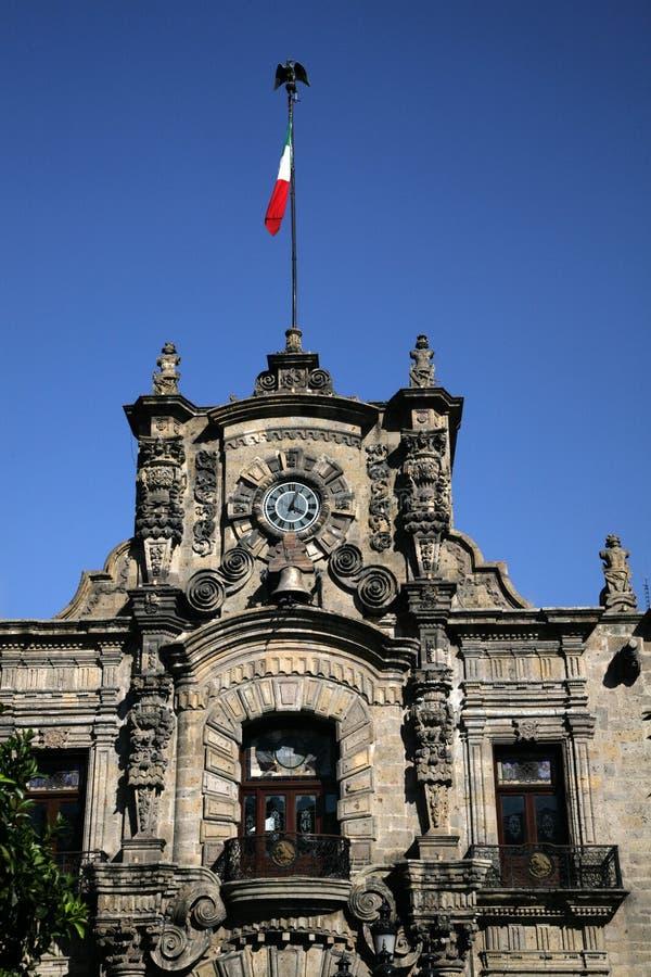 regerings- guadalajara mexico slott fotografering för bildbyråer
